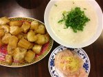 fish-congree-with-chinese-doughnut-congree-a-comfort-food-by-diana-zen-moon